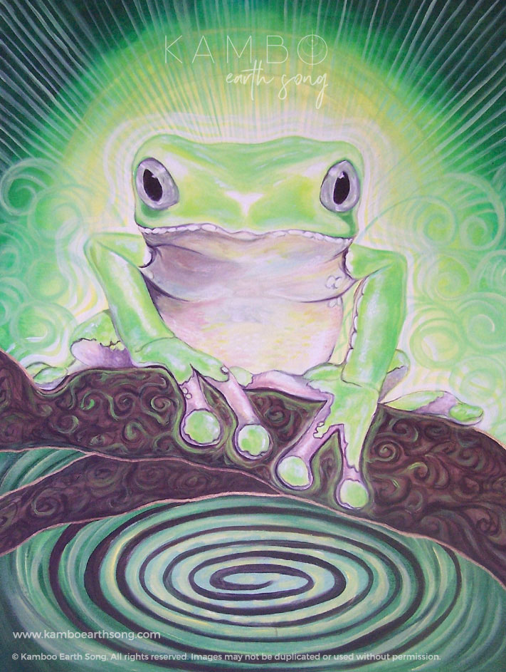 Kambo Frog Painting